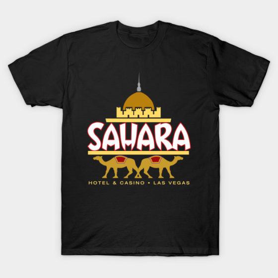 Sahara Hotel & Casino T-Shirt – Classic Las Vegas T-Shirt