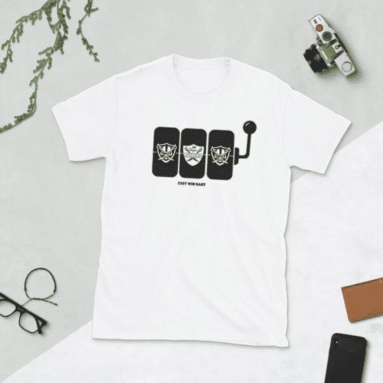 Vegas Raiders Slot Shirt – Just Win Baby