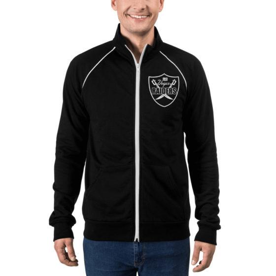 Vegas Raiders Piped Fleece Jacket