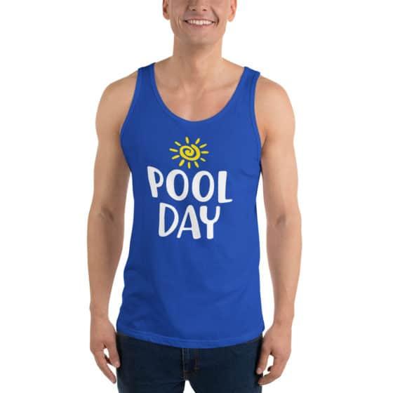 Pool Day Unisex Tank Top