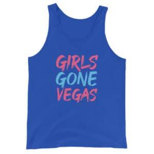 Girls Gone Vegas Unisex Tank Top