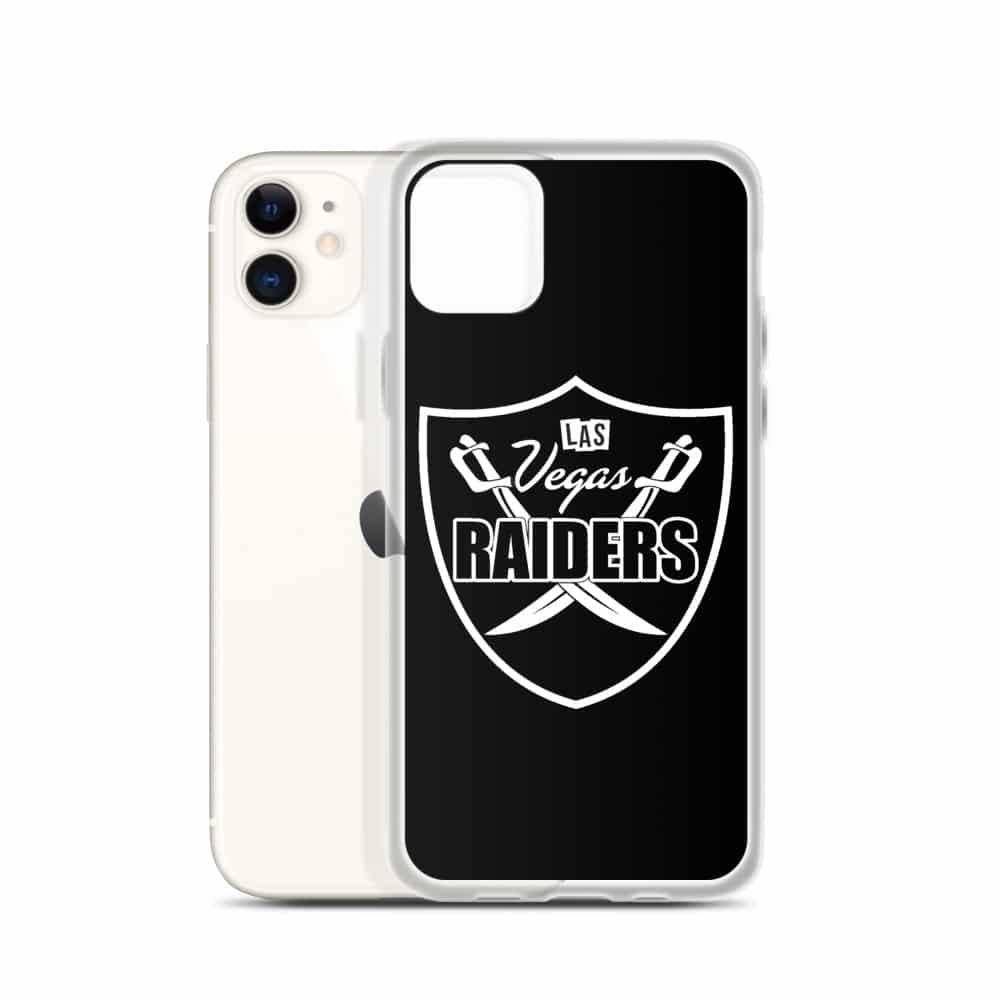 Las Vegas Raiders Simple Shield iPhone Case